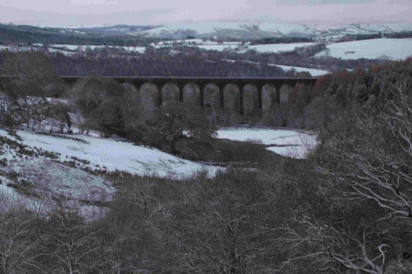 Viaduct in Snow