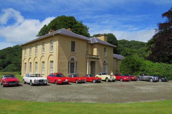 Classic Cars at Llanerchaeron House