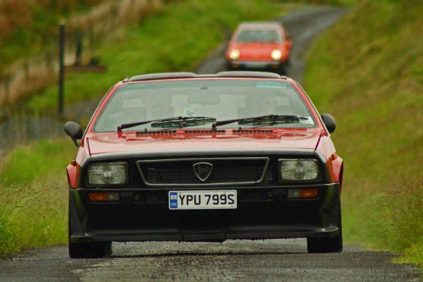 Lancia on Classic Car Tour