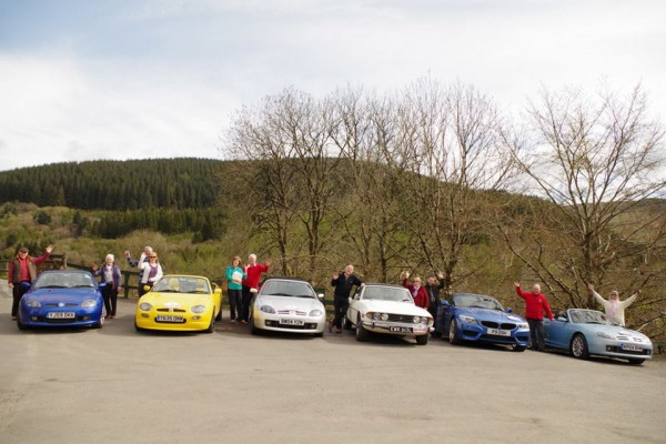 Yorkshire MGF Register Club & MG Nomads